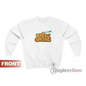Animal Crossing Anti Social Unisex Sweatshirt