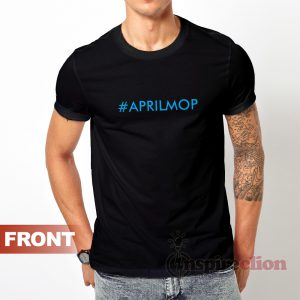 April Mop T-Shirt For Unisex