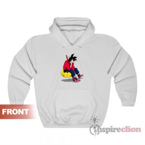 Dragon Ball Goku Chilling Hip Hop Nike Swag Hoodie