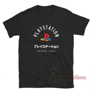 Ripple Junction Playstation Logo T-Shirt