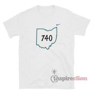 Joe Burrow 740 Ohio T-Shirt