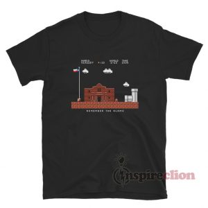 Remember the Alamo Mario T-Shirt For Unisex