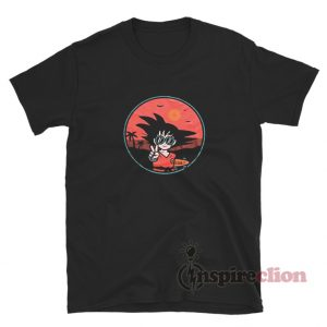 Peace Son Goku T-Shirt For Unisex