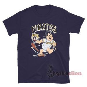 90s Pittsburgh Pirates Fred Flintstone MLB T-Shirt
