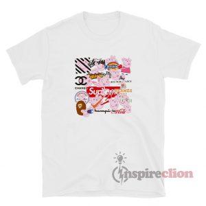 Peppa Pig X Popular Clothing Brands T-Shirt