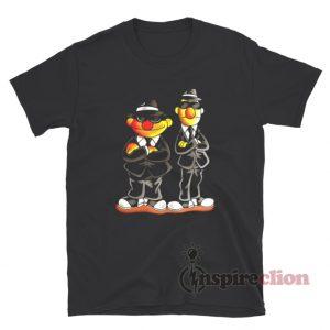 Taehyung Ernie Bert Blues Brothers Sesame Street Shirt