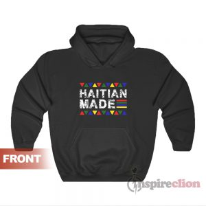 Haitian Made Haiti Pride Hoodie For Unisex