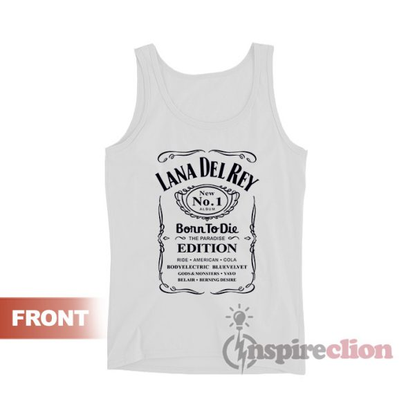 LANA DEL REY Jack Daniels Born To Die Tank Top
