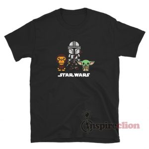 Baby Milo X Star Wars Baby Yoda The Mandalorian T-Shirt