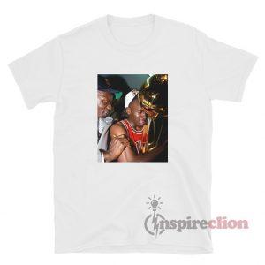 Crying Michael Jordan Holding Trophy T-Shirt