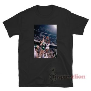 Julius Erving Jump Shot Against Rival Larry Bird T-Shirt