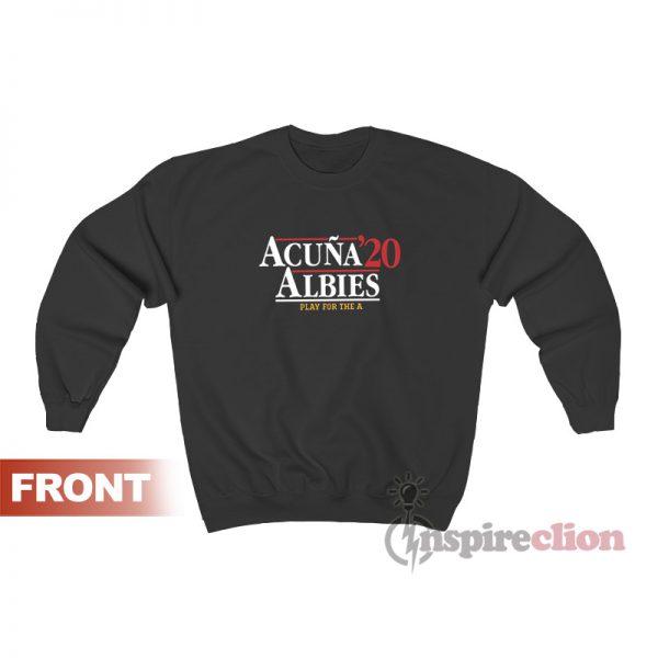 Acuna Albies 2020 Sweatshirt