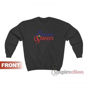 Haitian Queen Haiti National Pride Crown Sweatshirt