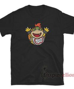 Baby Bowser Jr. Emblem Custom T-Shirt