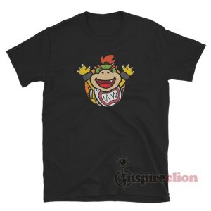 Baby Bowser Jr. Emblem Custom T-Shirt