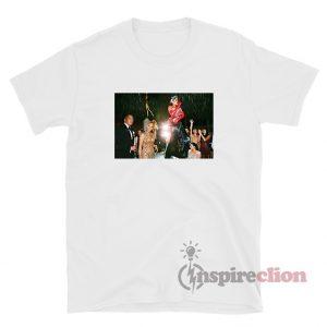 Rihanna Performs At The Met Gala 2015 T-Shirt