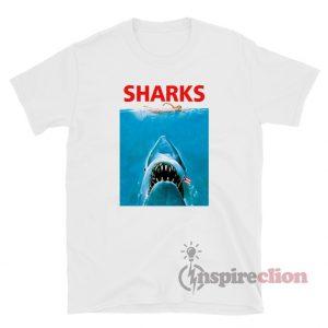 Sharks Jaws Funny T-Shirt