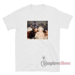 Golden Girl Betty White Vintage T-Shirt