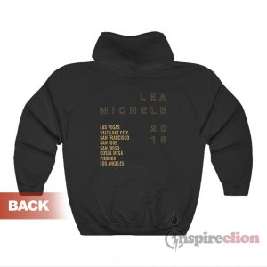 Lea Michele 2018 Fall Tour Hoodies