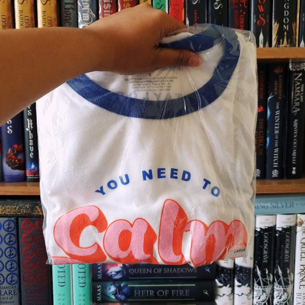 You Need To Calm Down Ringer T-Shirt