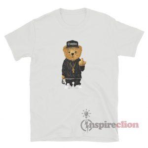 Compton Bear Middle Finger T-Shirt