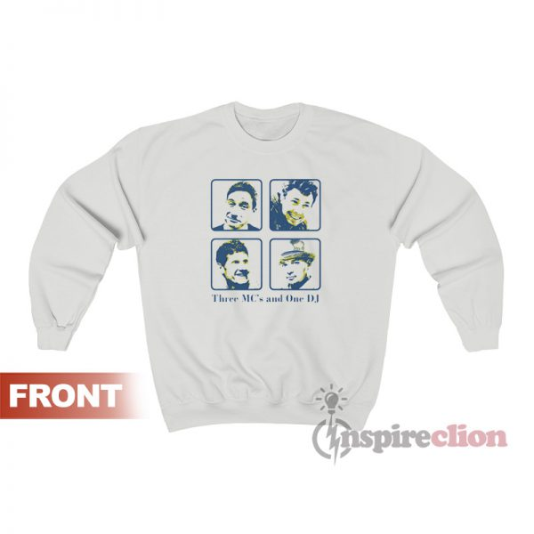 Beastie Boys Three MC's And One DJ Sweatshirt