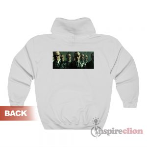 The Matrix Revolutions Agent Smith Hoodie