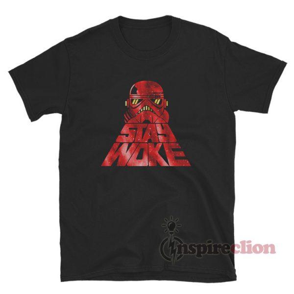 Hip Hop Trooper Stay Woke T-Shirt