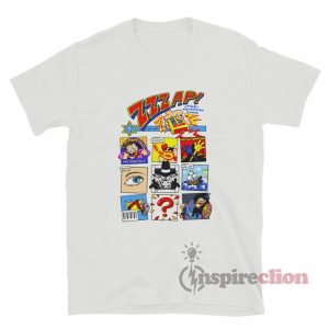Zzzap! Inspired Comic Book Cover T-Shirt