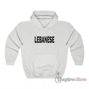 Lebanese Glee Inspired Hoodie