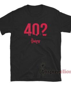 402 Nebraska Huskers T-Shirt
