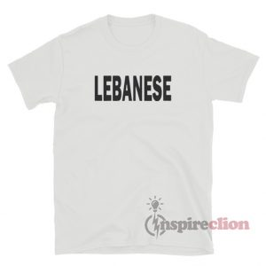 Lebanese Glee Inspired T-Shirt