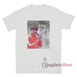BTS J-Hope Playing The Recorder With His Nose Meme T-Shirt