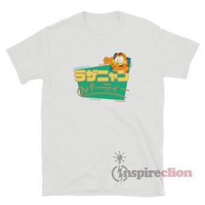 Garfield Lasagna Party Japan Funny T-Shirt