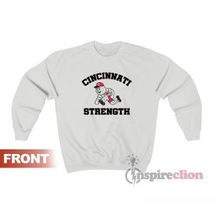 Cincinnati Reds Strength Sweatshirt