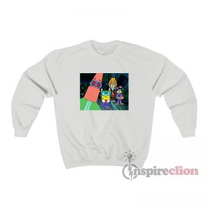 Spongebob The International Justice League Of Super Heroes Sweatshirt