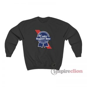Emotional Support Beer Sweatshirt