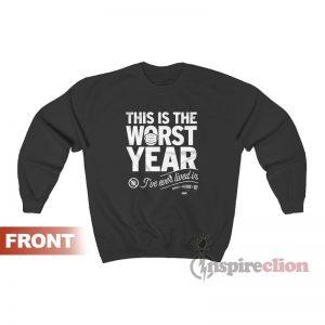 SCU Worst Year All Elite Wrestling Sweatshirt