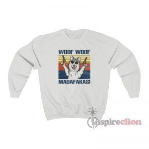 Vintage Woof Woof Madafakas Sweatshirt