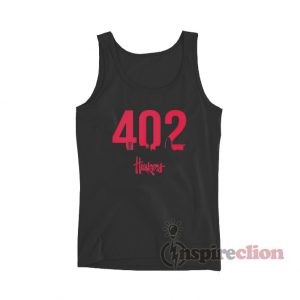 402 Nebraska Huskers Tank Top