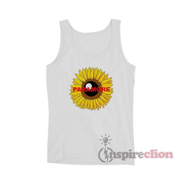 Paramore Sunflower Tank Top