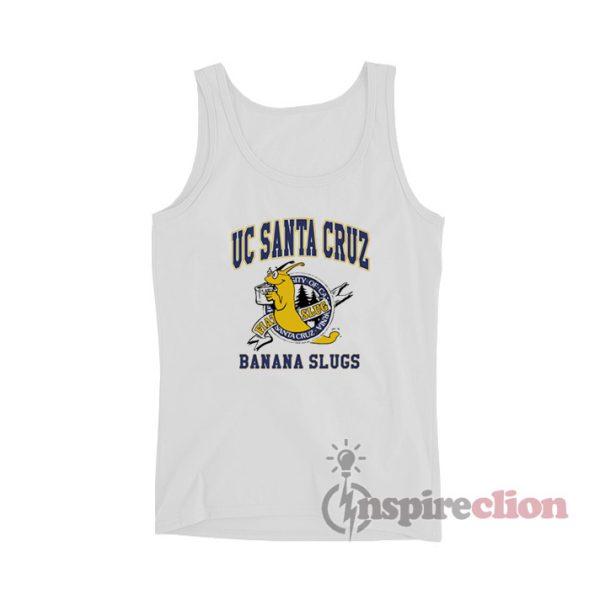 Uc Santa Cruz Banana Slugs Tank Top