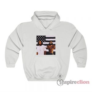 LeBron And AD OutKast Funny Hoodie