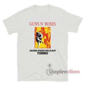 Guns N Roses Giugno Stadio Delle Alpi Torino T-Shirt