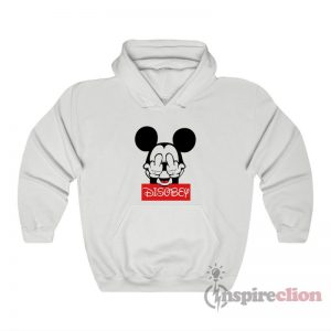 Mickey Mouse Disobey Fuck Off Middle Finger Hoodie