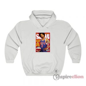 Allen Iverson Soul On Ice Slam Cover Hoodie