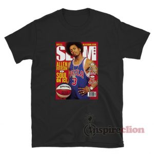 Allen Iverson Soul On Ice Slam Cover T-Shirt