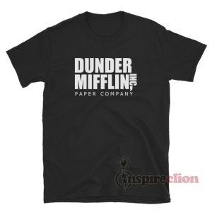 Dunder Mifflin Inc Paper Company T-Shirt