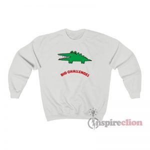 Sanrio Big Challenges Crocodile Sweatshirt