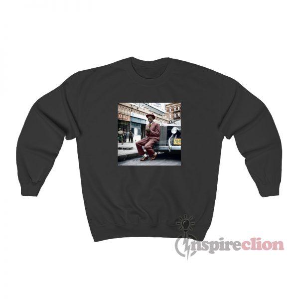 Photo Satchel Paige Harlem 1941 Vintage Sweatshirt